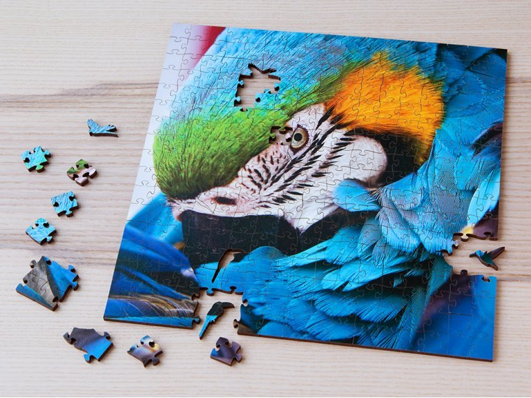Large Wooden Jigsaw Puzzle by Zen Art & Design - 1