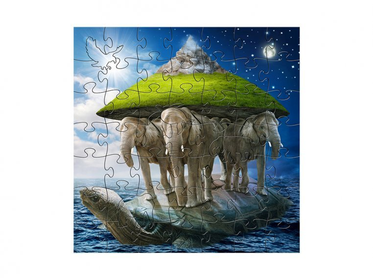 Children's Wooden Jigsaw Puzzle by Zen Art & Design - 6