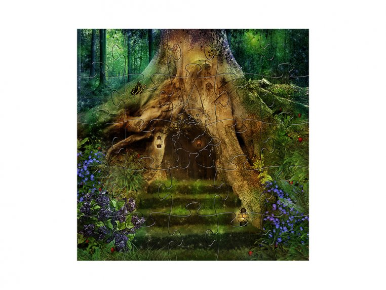 Children's Wooden Jigsaw Puzzle by Zen Art & Design - 5