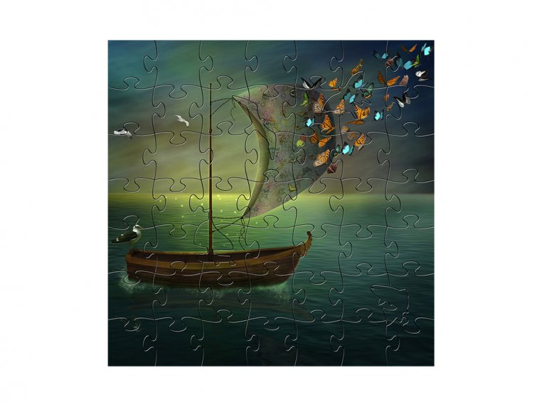 Children's Wooden Jigsaw Puzzle by Zen Art & Design - 7