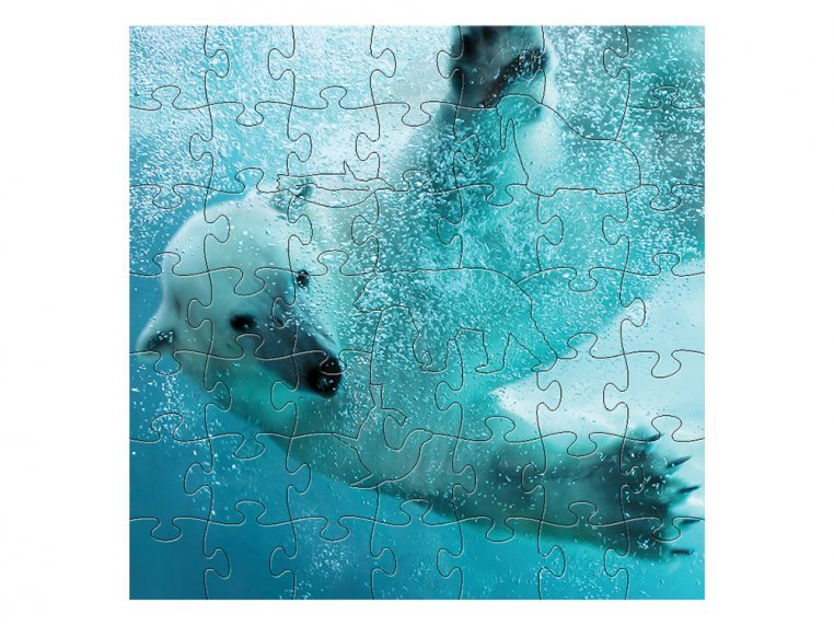 Children's Wooden Jigsaw Puzzle by Zen Art & Design - 9