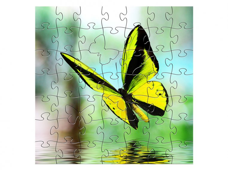 Children's Wooden Jigsaw Puzzle by Zen Art & Design - 11