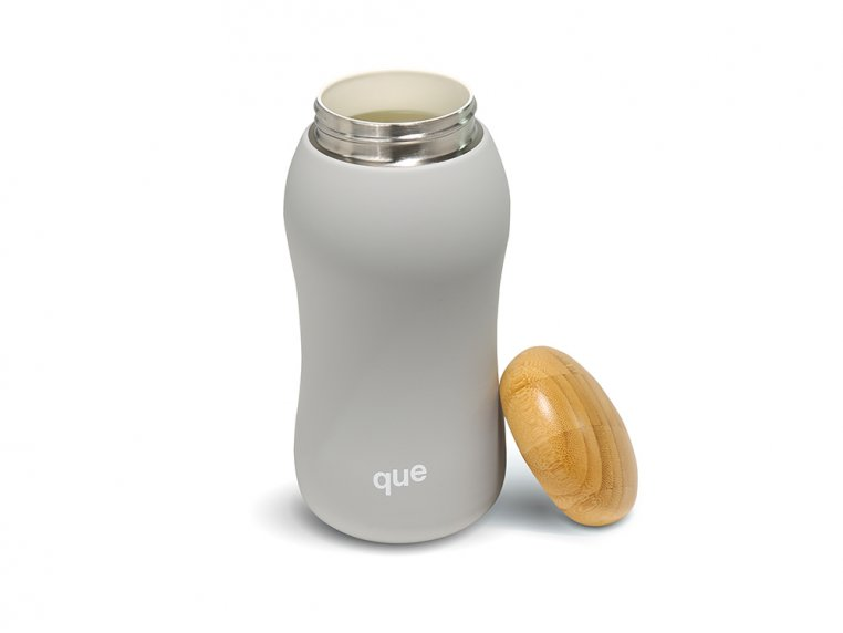 Insulated Mug with Bamboo Cap by que - 6