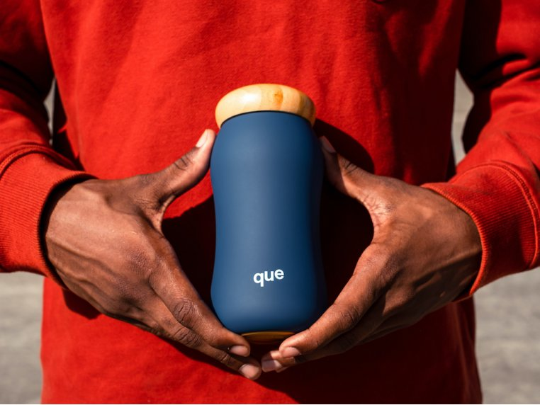 Insulated Mug with Bamboo Cap by que - 3