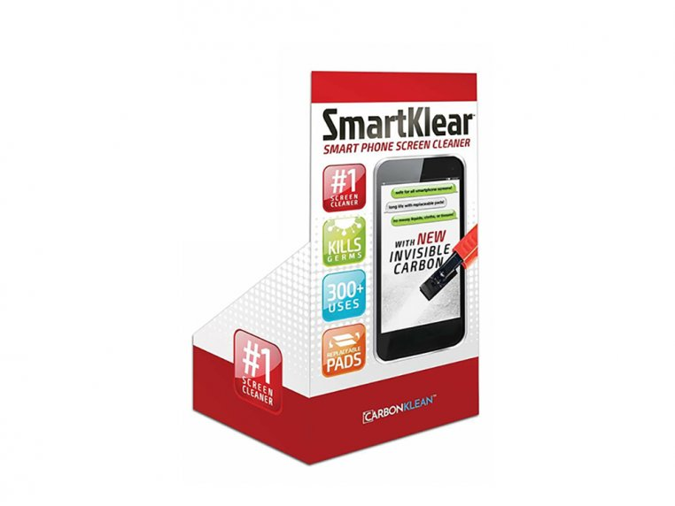 Carbon Smartphone Cleaner With Display by SmartKlear - 12
