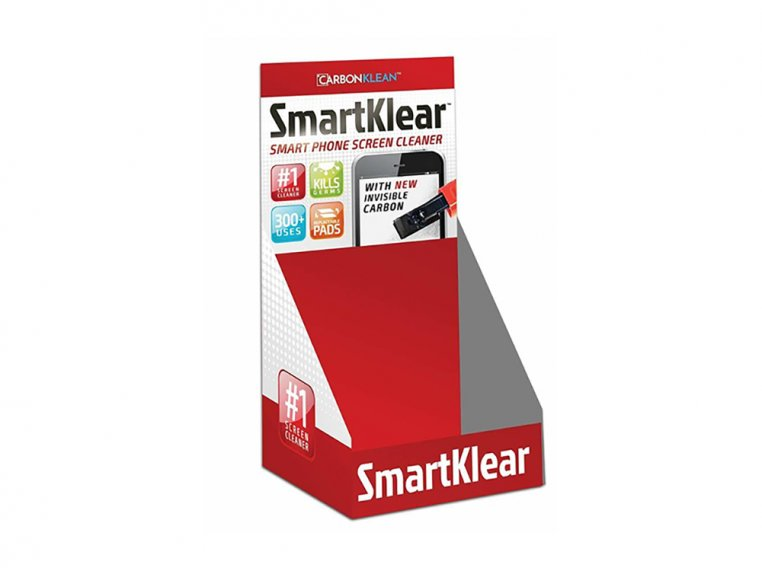 Carbon Smartphone Cleaner With Display by SmartKlear - 11