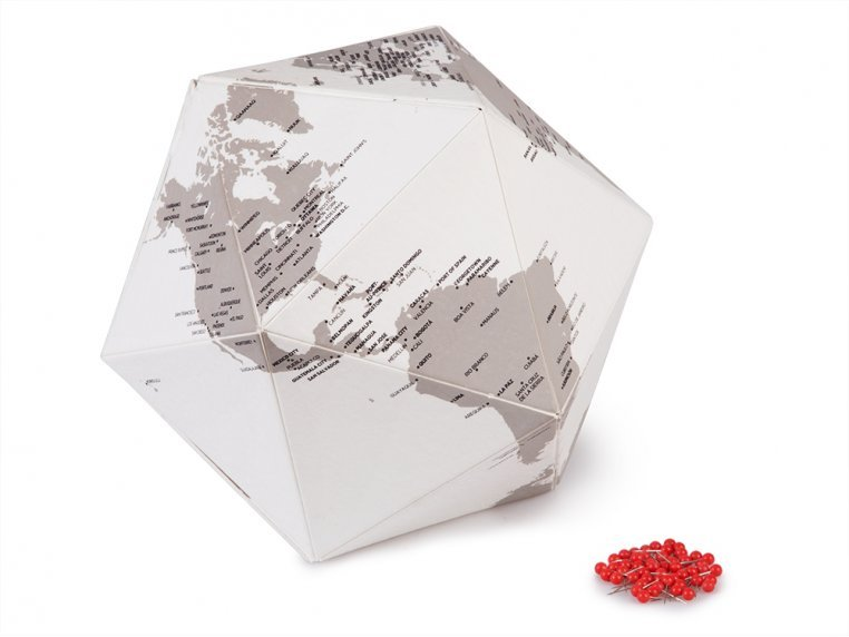 Three-Dimensional Paper Globe by Palomar - 4