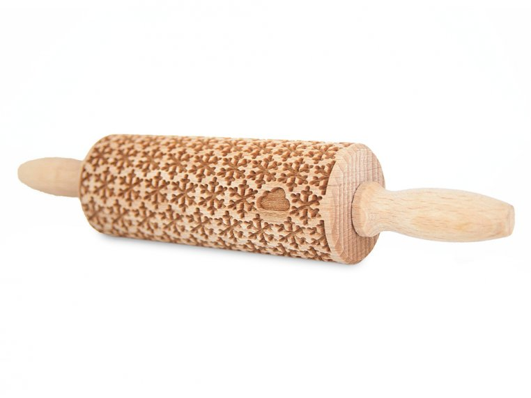 Small Embossing Rolling Pin by Valek - 3
