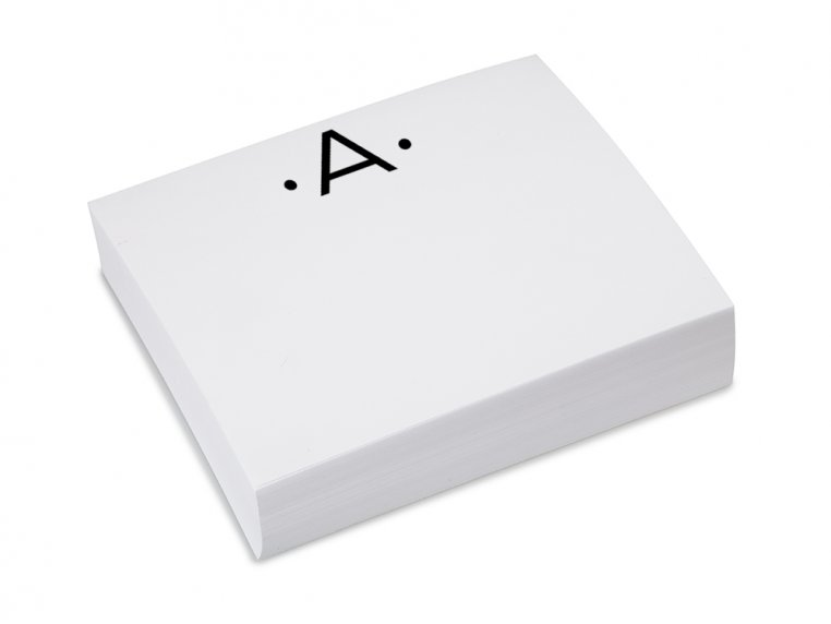 Initialed Notepad Stationery by Black Ink - 4