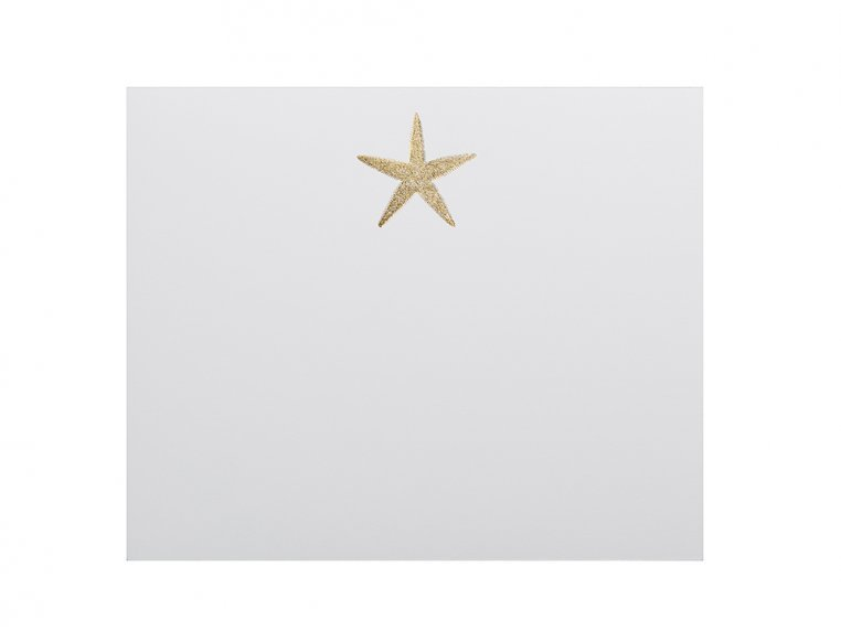 Gold Icon Notepad Stationery by Black Ink - 9