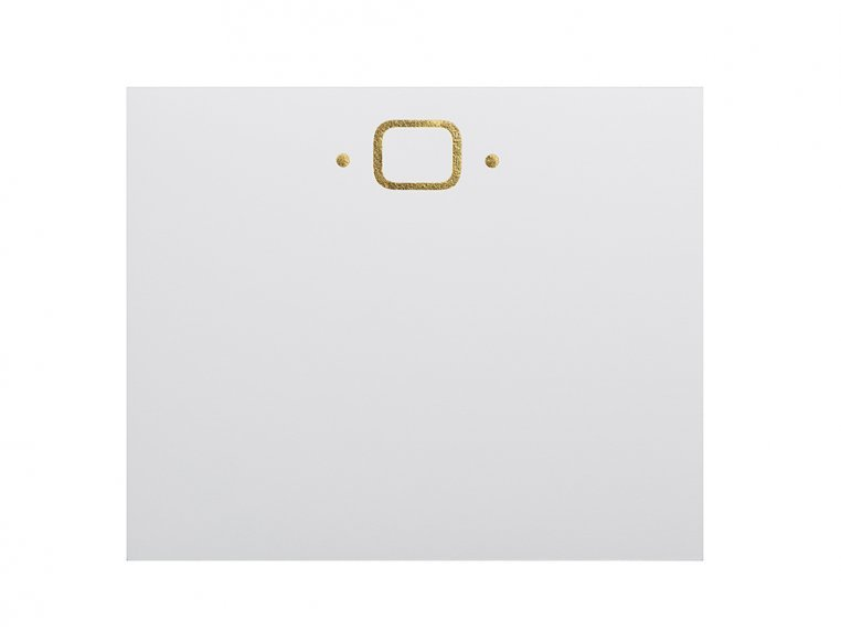 Gold Initialed Notepad Stationery by Black Ink - 18
