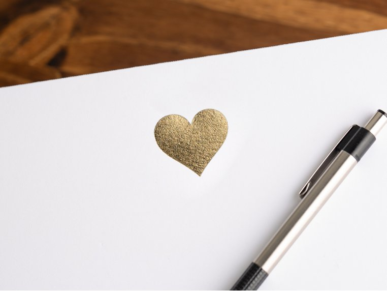 Gold Icon Notepad Stationery by Black Ink - 3