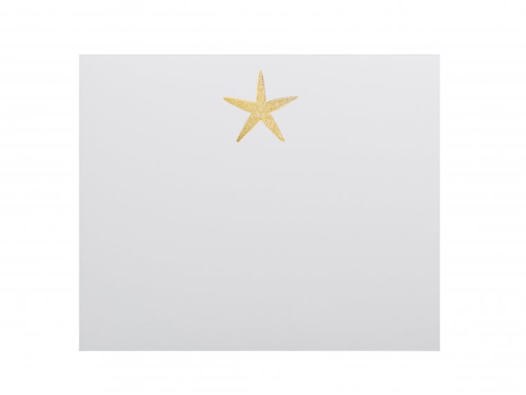 Gold Icon Notepad Stationery by Black Ink - 10