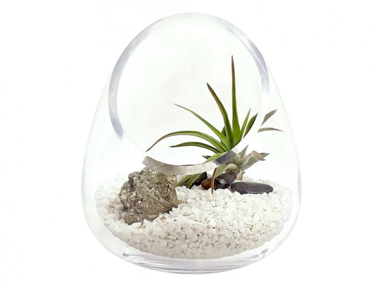 Cut Glass Gem Terrarium by Luludi Living Art - 8