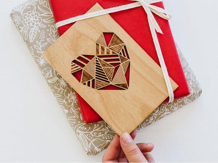 Love Laser Cut Card by Cardtorial - 2