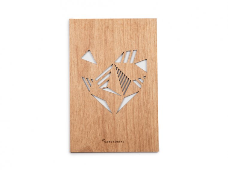 Love Laser Cut Card by Cardtorial - 3