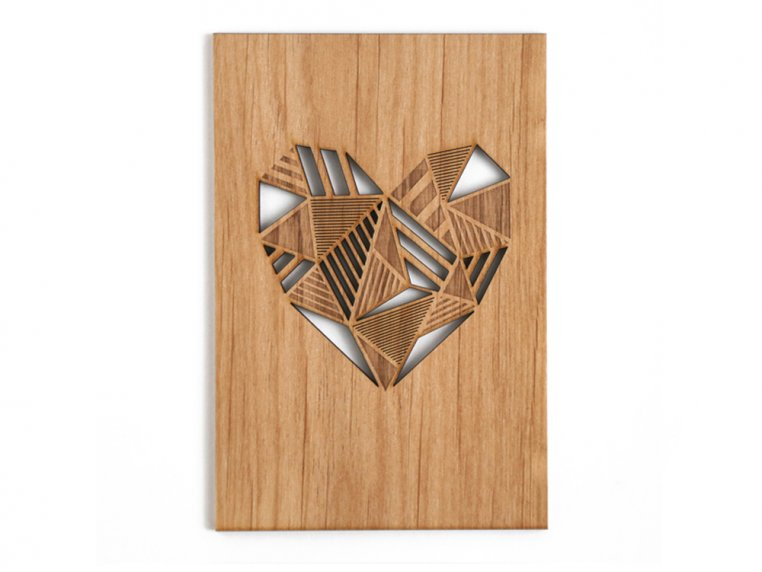 Love Laser Cut Card by Cardtorial - 6
