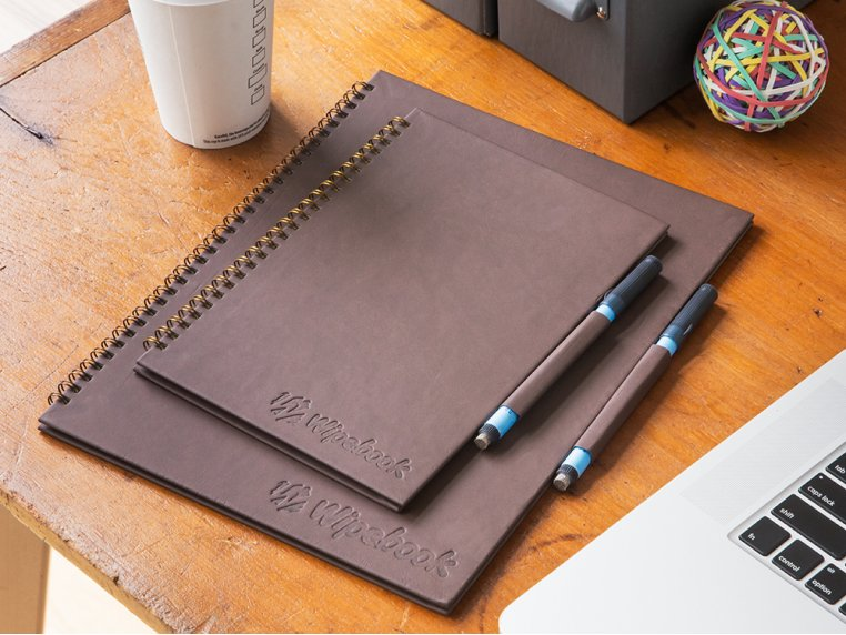 Reusable Whiteboard Notebook by Wipebook Pro - 3