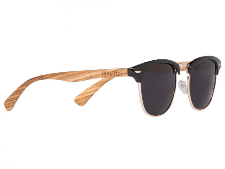 Wooden Browline Sunglasses by Woodies - 4