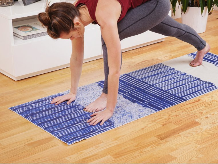 Performance Yoga Mat Towel by Arete Complete - 2