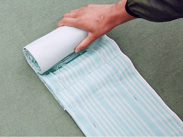 Performance Yoga Mat Towel by Arete Complete - 3