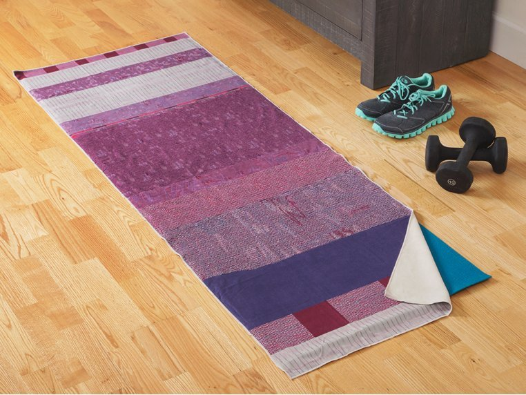 Performance Yoga Mat Towel by Arete Complete - 1