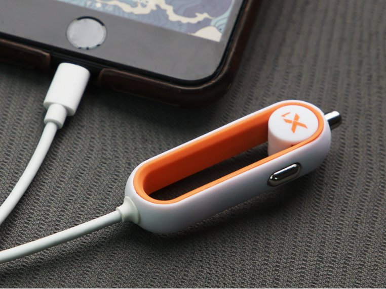 X1 Apple Car Charger with Lightning Connector by RapidX - 1