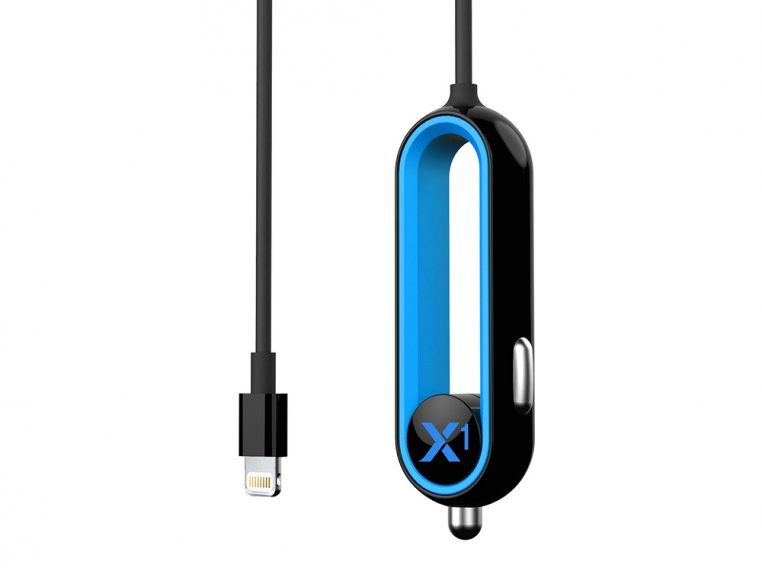 X1 Apple Car Charger with Lightning Connector by RapidX - 4
