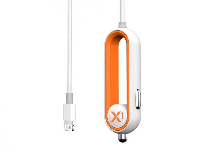 X1 Apple Car Charger with Lightning Connector by RapidX - 5