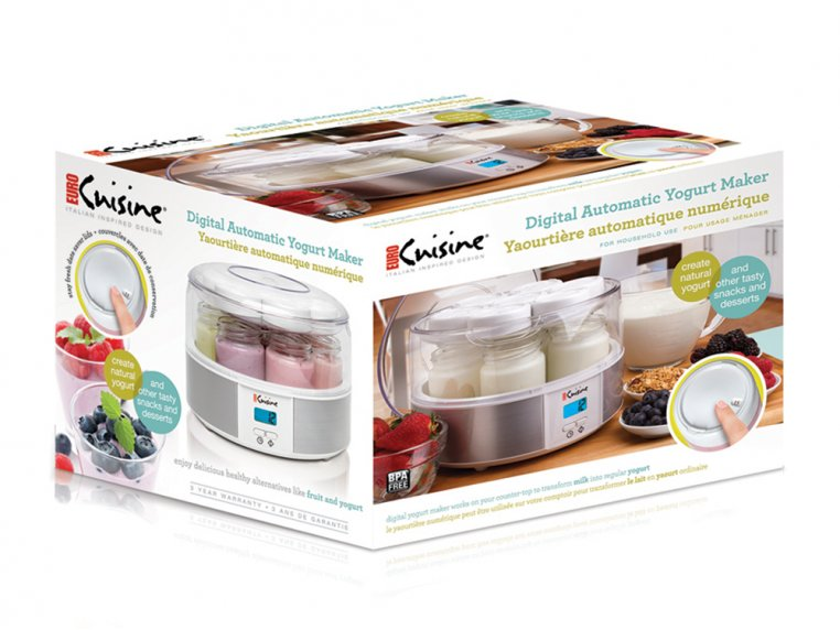 Digital Automatic Yogurt Maker by Euro Cuisine - 6