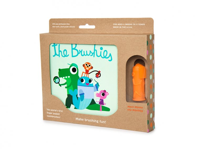 Puppet Toothbrush + Story Book by The Brushies - 5