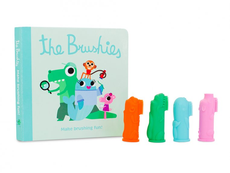 Puppet Toothbrushes Gift Set by The Brushies - 5