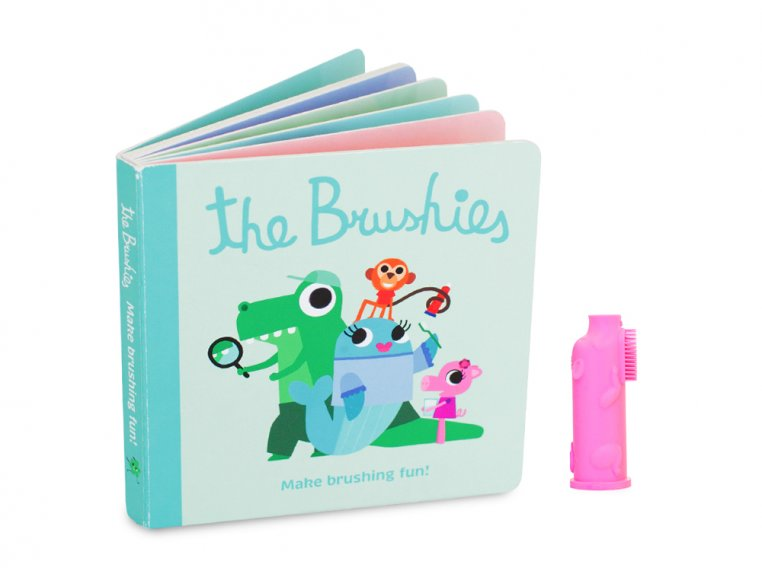 Puppet Toothbrush + Story Book by The Brushies - 6