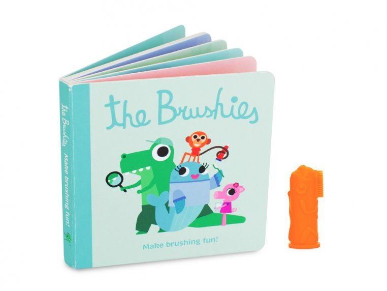 Puppet Toothbrush + Story Book by The Brushies - 7