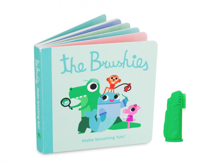Puppet Toothbrush + Story Book by The Brushies - 8