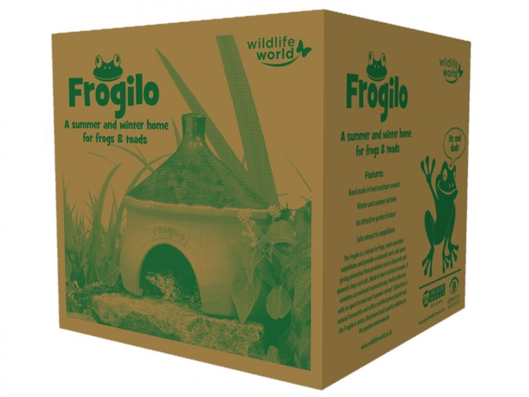 Ceramic Frog & Toad House by Wildlife World - 5
