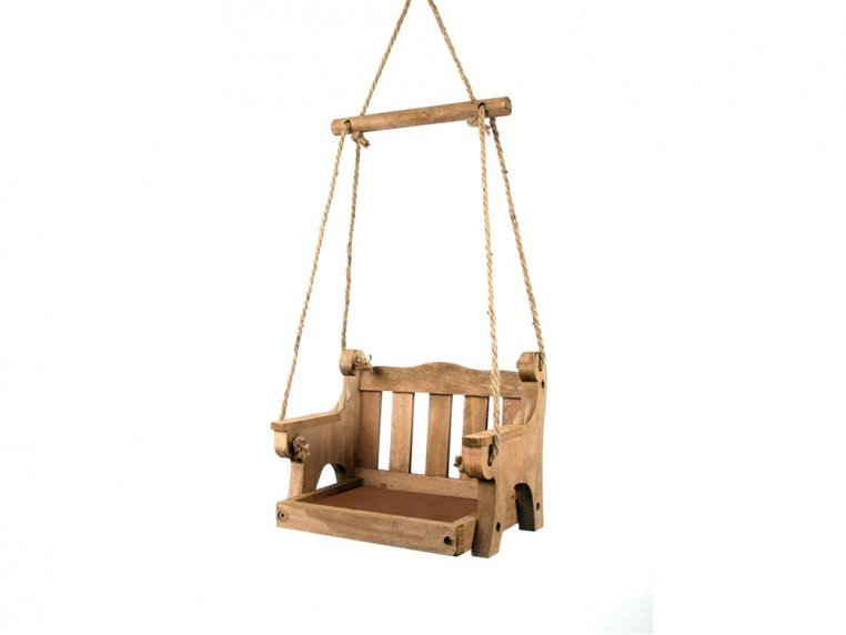Porch Swing Bird Feeder by Wildlife World - 2