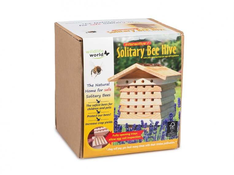 Stacking Solitary Bee Hive by Wildlife World - 5