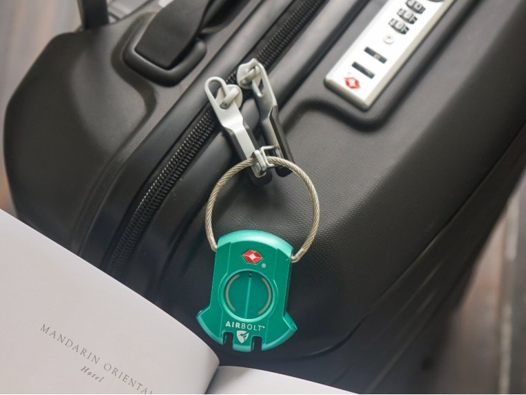 GPS Connected Smart Travel Lock by AirBolt - 3