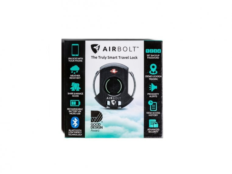 GPS Connected Smart Travel Lock by AirBolt - 7