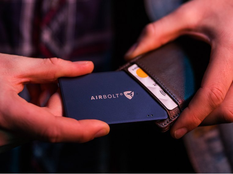 Wireless Card Tracking Device by AirBolt - 2