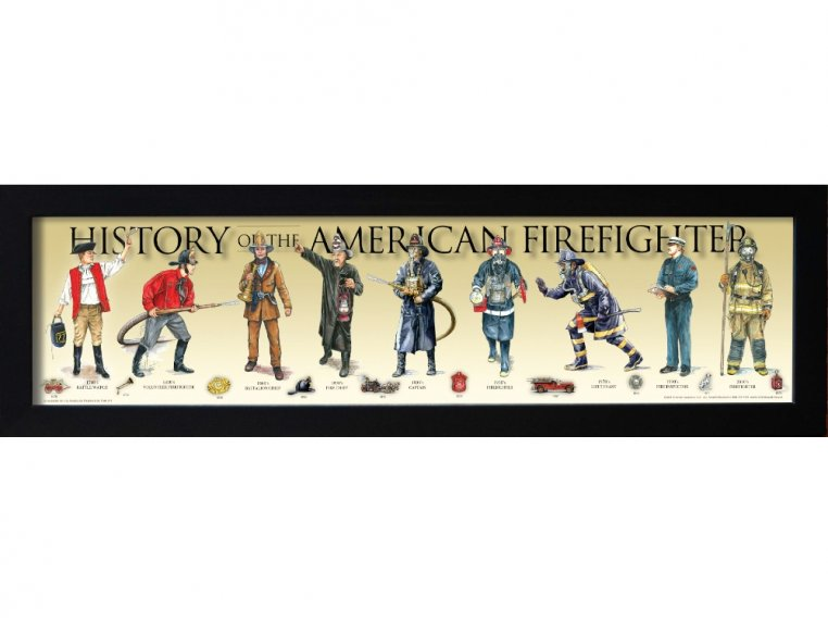 Framed Historical Prints by History America - 5