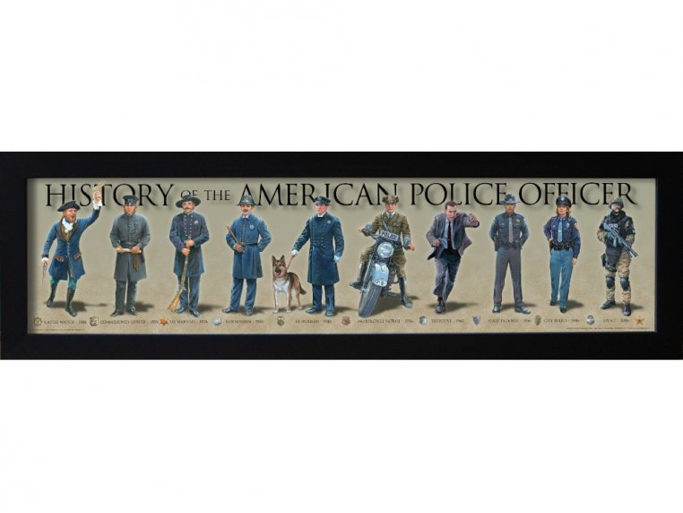 Framed Historical Prints by History America - 7