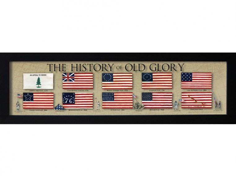 Framed Historical Prints by History America - 10