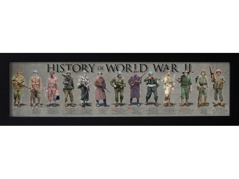 Framed Historical Prints by History America - 12