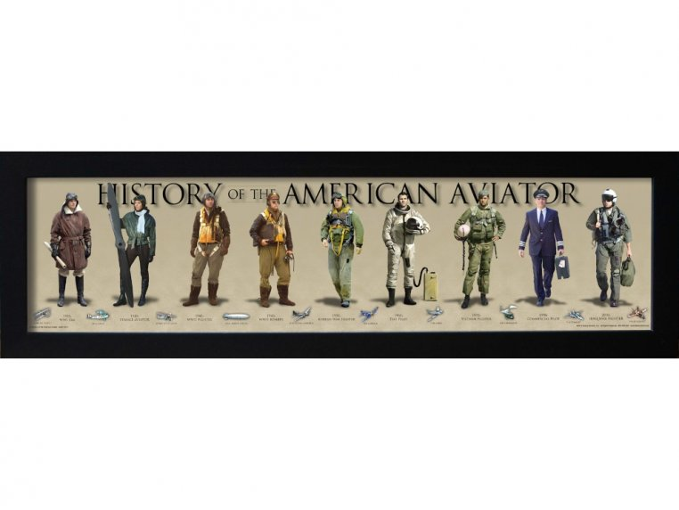 Framed Historical Prints by History America - 13