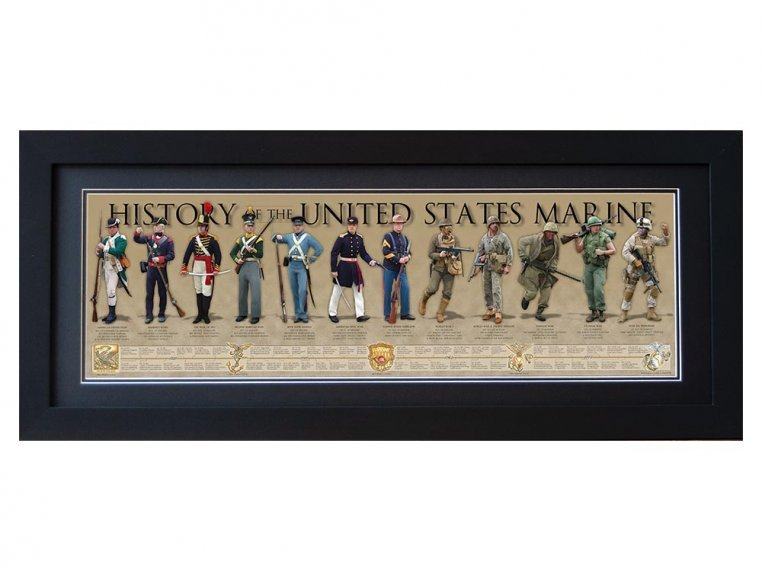 Framed Historical Prints by History America - 14