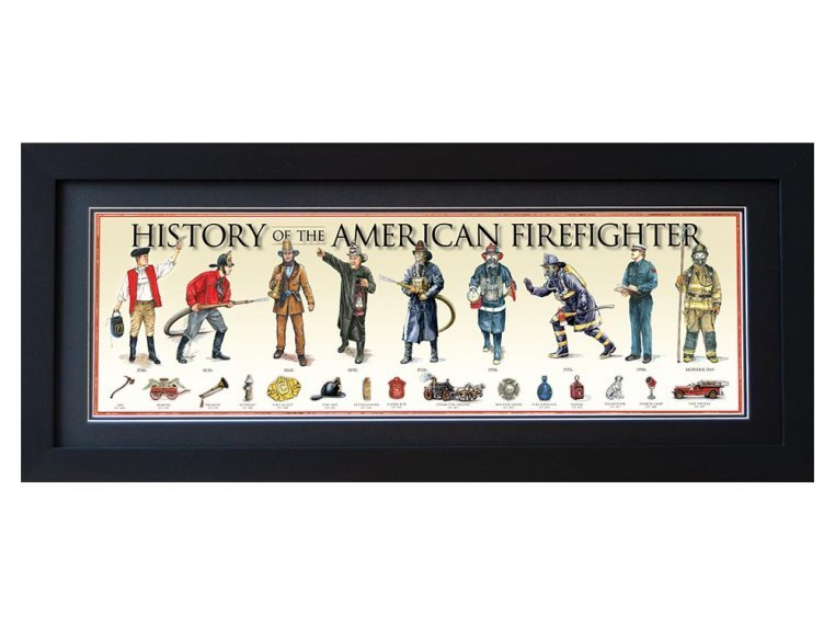 Framed Historical Prints by History America - 15