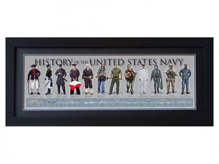Framed Historical Prints by History America - 16