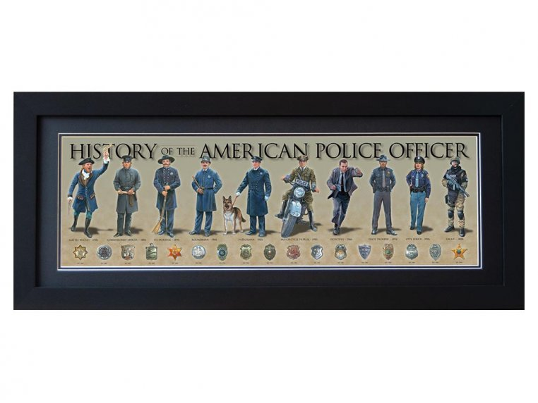 Framed Historical Prints by History America - 17